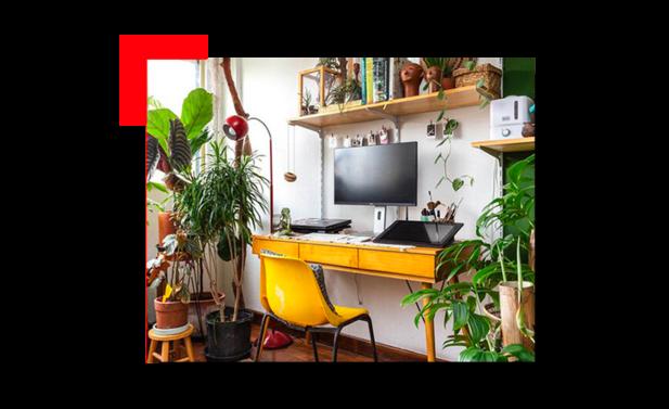 habitación con espacio optimizado