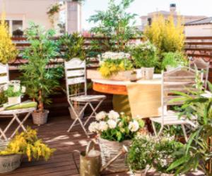 ¿Cómo decorar una terraza pequeña? ¡9 Ideas para ti!