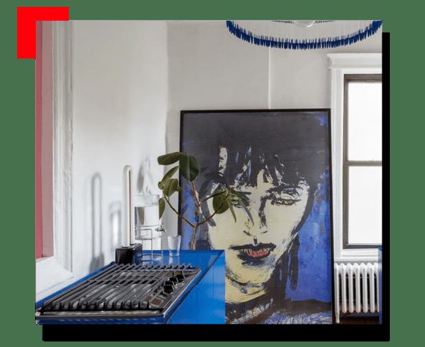 cocina con arte