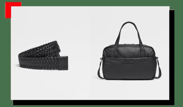 bolso y cinturón