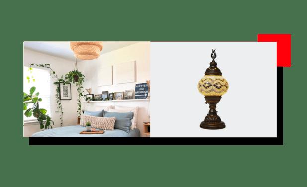 Habitación con muebles pequeños